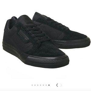 Adidas Continental Vulc Sneakers Triple Black